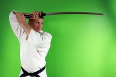 Samurai sword Royalty Free Stock Images