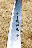 Samurai sword Stock Image