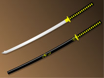 Samurai sword Stock Photo