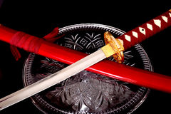 Samurai sword Royalty Free Stock Photos