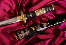 Samurai Sword. Royalty Free Stock Photography