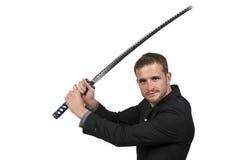 Samurai Swordsman Fighter Stock Photo