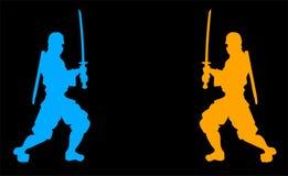 Samurai symbol Royalty Free Stock Images