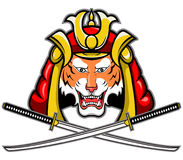 Samurai-Tiger Stockbild