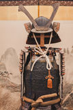 Samurai traditional armor at Orient Festival in Milan, Italy Stock Photos