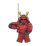 Samurai Warrior Royalty Free Stock Photos