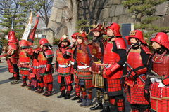 Samurai Warriors Royalty Free Stock Photography