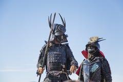 Samurai warriors Royalty Free Stock Photo