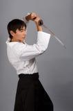 Samuraigeist Lizenzfreies Stockbild