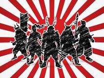 samurais Lizenzfreie Stockfotos