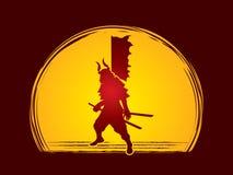 samurais Stockbilder