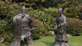 samurais Stock Foto's