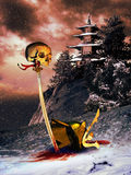 Samuraj śmierć Obrazy Stock