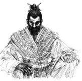 samuraja. Obraz Royalty Free