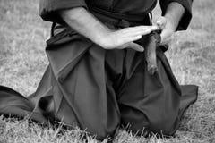 samuraja. Zdjęcie Royalty Free
