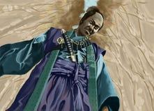 samuraja. Zdjęcie Stock