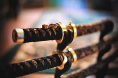 Samuraja kordzik Obrazy Royalty Free