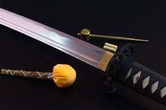 Samuraja kordzik Zdjęcie Royalty Free