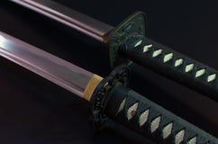 Samuraja kordzik Zdjęcia Royalty Free