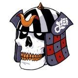 Samuraja ODBITKOWY glansowany styl Zdjęcia Stock