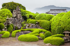 Samuraja ogród w Chiran zdjęcie stock