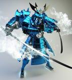 Samuraja robota wojownika projekt ?wiadczenia 3 d zdjęcia royalty free