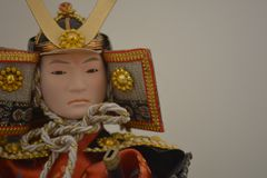 Samurajdocka arkivbild