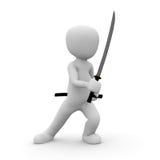 Samurajowie Obraz Stock