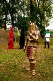 Samurajowie przy Lucca komiczkami 2017 i grami obrazy royalty free