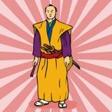 samurajski wojownik Obrazy Stock