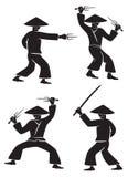 Samurajsvärd Arkivfoton