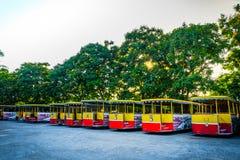 SAMUT PRAKAN, TAILÂNDIA, ABRIL, 23, 2017 - parque da cidade antiga, M.U.A. Imagem de Stock Royalty Free
