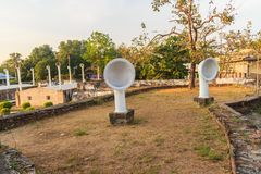 Samut Prakan, Tailandia - 25 marzo 2017: Phi Sua Samut Fortress Fotografia Stock