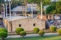 Samut Prakan, Thaïlande - 25 mars 2017 : Phi Sua Samut Fortress Image stock