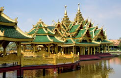 Samut Prakan, Thailand: Enlightened Pavilion Stock Photography