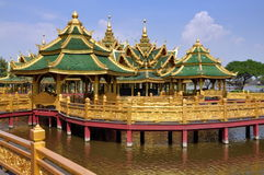 Samut Prakan, Thailand: Enlightened Pavilion Stock Photo