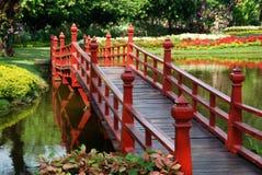 Samut Prakan, Thailand: Garden of Gods Bridge Stock Photography