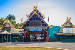 Samut Prakan, Thailand - Maart 25, 2017: Ingangspoort van Sa Stock Foto
