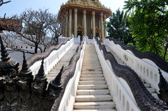 Samut Prakan, Thailand:  Mondop Staircases Royalty Free Stock Images