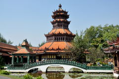 Samut Prakan, Thailand: Phra Kaew Pavilion Royalty Free Stock Photography