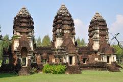 Samut Prakan, Thailand:   Prang Sam Yod Stock Images