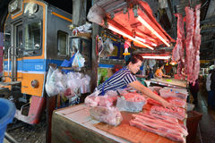Samut Sakhon,泰国 免版税库存照片
