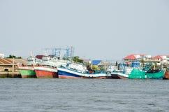 Samut Sakhon, Thailand : Fishing boat Stock Photo
