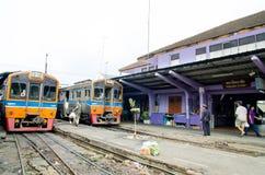 Samut Sakhon, Thailand : Mahachai railway station Stock Images