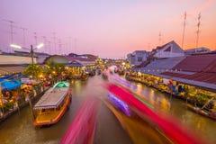 Samut Songkhram,Thailand Royalty Free Stock Photo