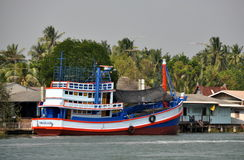 Samut Songkhram, Thailand: Fishing Boat Stock Images