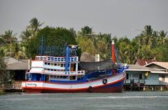 Samut Songkhram, Thailand: Fishing Boat Stock Images