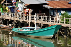 Samut Songkhram, Thailand: Fishing Boat Royalty Free Stock Image