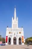 SAMUT SONGKHRAM, THAILAND-  JAN3, 2015: Tourist go to travel at Royalty Free Stock Image