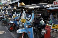 Samut Songkhram, Thailand: Tuk-Tuk Taxis Stock Photography
